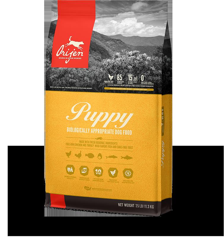 Orijen Puppy Dry Dog Food Leashes Leads
